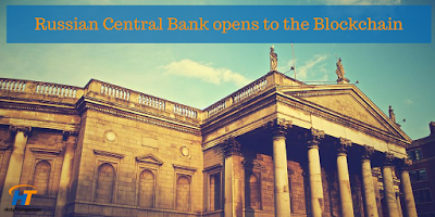 the bank of russia, russian central bank, blockchain