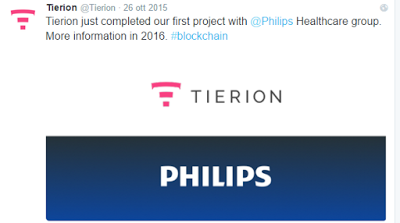 tierion ceo philips project blockchain healthcare