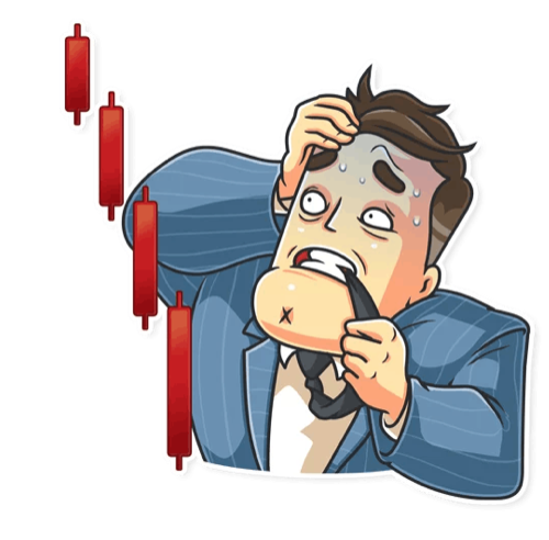 Telegram sticker Mr Trader, Holytransaction