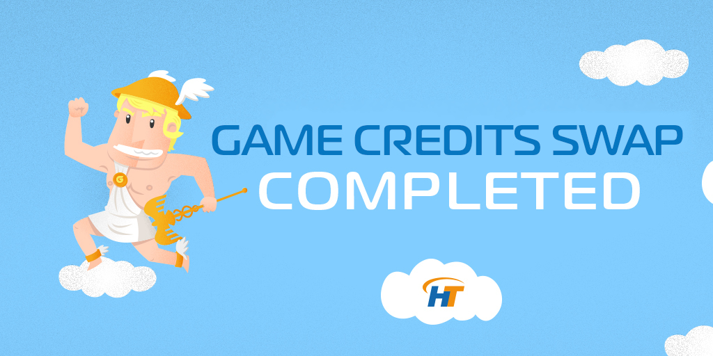 Game Credits Token Swap
