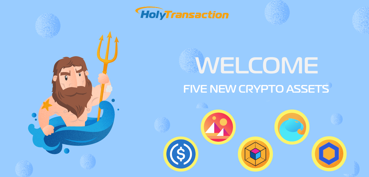 HolyTransaction Five Crypto Assets