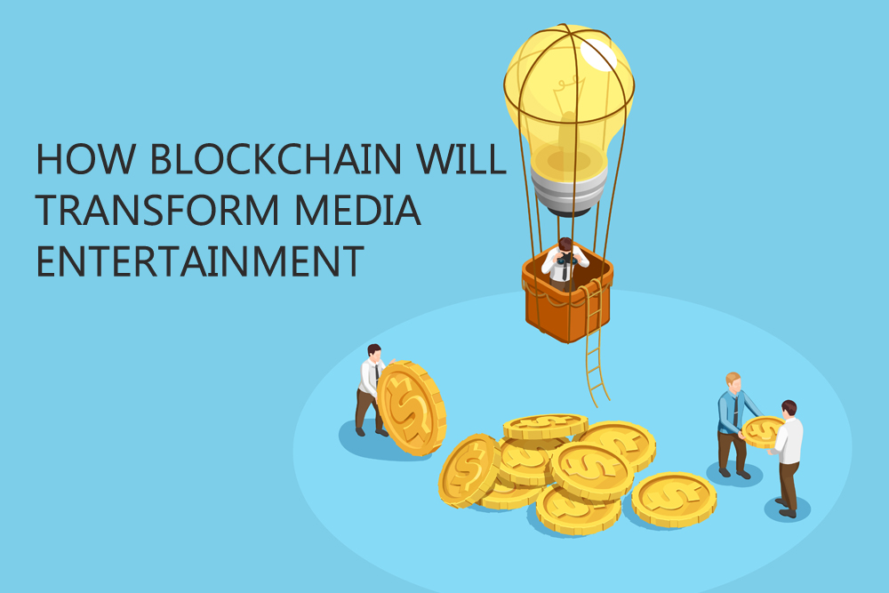 blockchain media entertainment